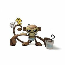 "JLED Joe Ledbetter Underwear Monkey Good Morning Sunshine Coffee 8"" vinyl figure"