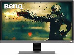 BenQ EL2870U 28 inch 4K Monitor for Gaming 1ms Response Time, FreeSync, HDR, eye
