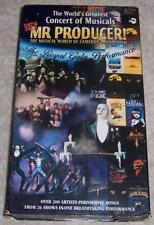 Hey Mr Producer! VHS Video Cameron MacKintosh Concert of Musicals