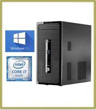 HP ProDesk 490 G3 MT PC Quad Core i7 6th Gen 6700 3.40GHz 12GB 1TB Win 10 2B76