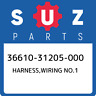 36610-31205-000 Suzuki Harness,wiring no.1 3661031205000, New Genuine OEM Part