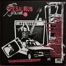 THESAURUS Vol.2 French Punk 1977-1979 Mickeystein Marquis de Sade Strychnine