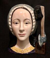 New ListingRoyal Doulton 'Anne Boleyn' D6644 1975 Large Toby Character Jug