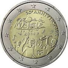PIECE 2 EUROS COMMEMORATIVE FRANCE 2011 FETE DE LA MUSIQUE