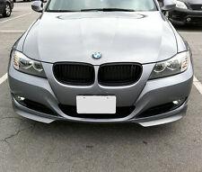 BMW 3 Series E90 E91 Euro Front Bumper Spoiler Lip Chin Valance Splitter Corner