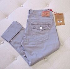 TRUE RELIGION Women's Seal Cameron Boyfriend Button Fly Overdye Pants - 27 NWT