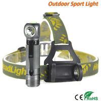 12000LM XPL V5 LED Militär Stirnlampe Kopflampe 18650 Taschenlampe Licht 6000K