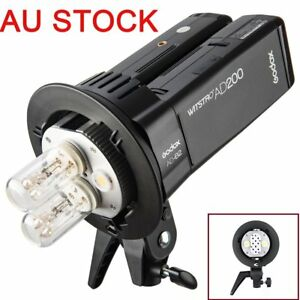 AU Godox AD-B2 Dual Double Power Flash Head S type Bracket for AD200 Speedlite