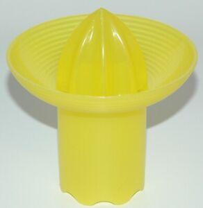 Tupperware Zitronenpresse Junge Welle J20 - gelb - Zitruspresse Saftpresse