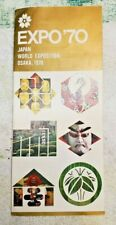 EXPO 70 Japan Leaflet Osaka 1970 Brochure