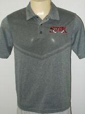 Lake Elsinore Storm Minor League Gray Short Sleeve Polo Shirt Men Medium