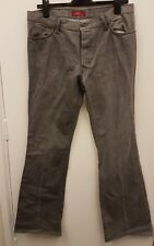 Mens Zara Grey Regular Fit Jeans Size W34 Length34
