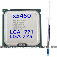 INTEL Xeon x5450 3.0GHZ quad-core processor compatible LGA 775 ultra q9550 q9650