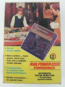 MRC RAIPOWER 1200 HO AND N SCALE TRAIN CONTROLLER NOS NEW OLD STOCK
