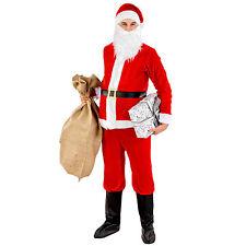 Déguisement de Père Noël pour homme nicholas santa claus costume carnaval fête