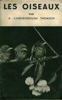 Livre ancien les oiseaux A.Landsborough book