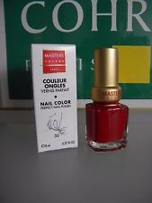 MASTERS COLORS COULEUR à ONGLES VERNIS PARFAIT 30 ROUGE GLAMOUR red glam  Guinot