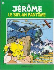 BD  Jérôme- Le biplan fantôme  - N°35 - Re- 1976 -TBE -Vandersteen