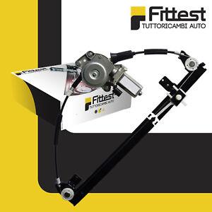 Alzacristalli Elettrico Fiat Multipla Alzavetro Anteriore Sinistro SX Con Motore