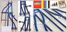 New LEGO 4.5v Trains 154 Switch Track 1-Left 1- Right  Sealed RARE 1967'
