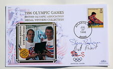 OLYMPIC GAMES ATLANTA 1996 BENHAM COVER ROWING SIGNED BY REDGRAVE & PINSENT