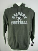 Oakland Raiders NFL Majestic Men's Big & Tall Pullover Sweatshirt
