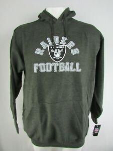 Oakland Raiders NFL Majestic Men's Big & Tall Pullover Sweatshirt