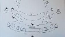 3M Scotchgard Paint Protection Film Pre-Cut Clear Bra 2014 Subaru Impreza WRX