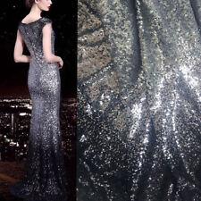 Atemberaubende Bling Brautkleid Abendkleid Stoff Perlen Hochzeit Kostüm DIY Tüll