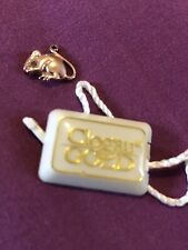 Clogau Vintage Solid Rose Gold Mouse Charm. Very Rare !