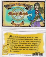 Pirates of the Caribbean MARY READ 1724 Drivers License fake id card