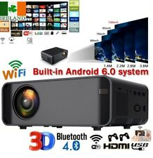 Mini Portable LED Projector 1080P HD Home Cinema Theater System Built in Android