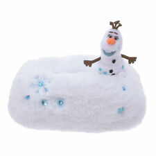 Disney Store Japan FrozenⅡTissue Box Cover Olaf fluffy Snow embroidery 5951