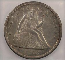 1873-P 1873 Liberty Seated Silver Dollar S$1 ICG EF45