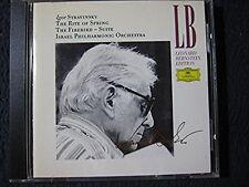 Stravinsky: Rite of Spring, Firebird Suite / Bernstein [Audio CD] Igor Stravin..