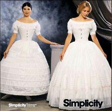 OOP! LADIES CRINOLINE HOOP PETTICOAT COSTUME SEWING PATTERN 6-12 Simplicity 9764