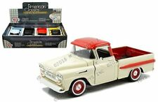 Motor Max 1:24 Display 1958 Chevrolet Apache Fleetside Pickup Truck Diecast Car