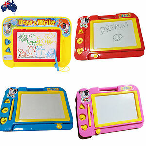 2x Magnetic Drawing Board Sketch Pad Doodle Writing Art Child GWRIT