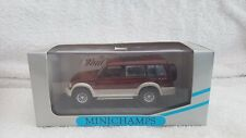 Minichamps 1/43 Scale Mitsubishi Pajero LWB Metallic Red 1994 430 163472