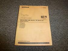 Caterpillar Cat D3C & LGP Series XL and III Hystat Tractor Parts Catalog Manual