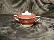 Salem ARISTOCRAT Vintage sugar bowl w/ lid, crack on inside only.