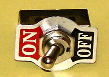 Toggle Switch Pack of 8 SPST On-Off 20 Amp K101-8