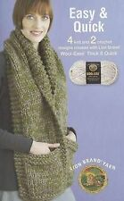 NEW Easy and Quick featuring Lion Brand Wool (Leisure Arts #75282)