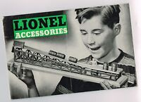 1954 Lionel Trains ACCESSORIES Catalog / Brochure : Locomotives,Layouts,Gang Car