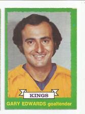 1973-74 OPC #199 GARY EDWARDS LOS ANGELES KINGS O-PEE-CHEE