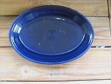 """Fiestaware~Cobalt~13½"""" Serving Platter~Oblong"""