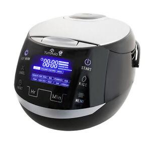 Yum Asia Sakura Advanced Fuzzy Logic Ceramic Rice Cooker (YUM-EN15) 8 cup/1.5L