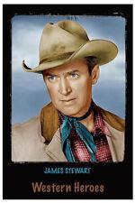 """4""""x6"""" MAGNET PRINT - """"JAMES STEWART""""   Western Heroes"""""""