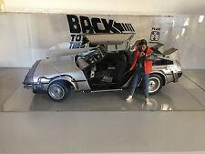 Hot toys retourner à l'Avenir, Bttf, DeLorean, Marty McFly, mms257+260, vitrine