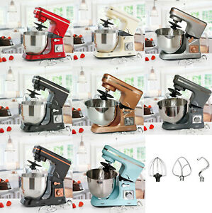 Neo Food Baking Electric Stand Mixer 5L 6 Speed Stainless Steel Mixing Bowl 800W